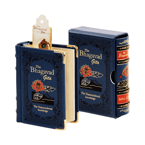 The Bhagavad Gita - Library Edition A7 (English)