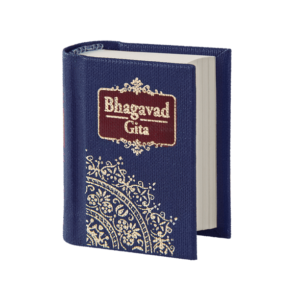 Mini Bhagavad Gita – Library Edition A9 (English)