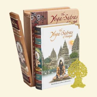 The Yoga-Sutras of Patanjali - Wooden Boxed Edition A6 Size Book
